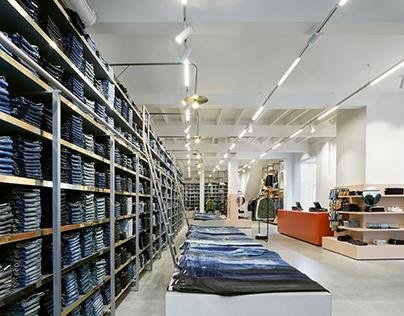 New concept store De Rode Winkel by VEVS