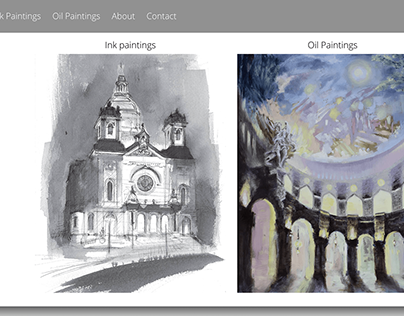 Virginia Mae Arts fine art website