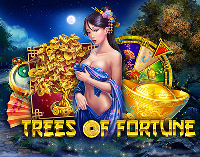 """Online slot game - """"Trees of Fortune"""""""
