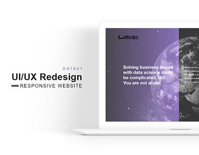 DATA51 - UI/UX Redesign