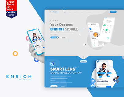 Enrich Mobile UI/UX Design