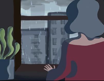 """Meteoropatia"" short animation"