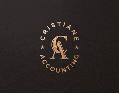 Cristiane Accounting Logo Design