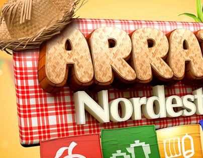 Supermercado Nordestão: Arraiá Nordestão