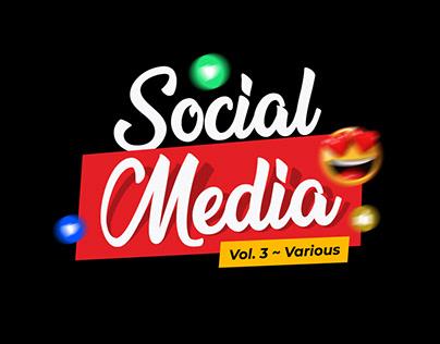 Social Media Designs - Vol.3