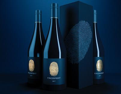 """Fingerprint"" - Wine Label Design"