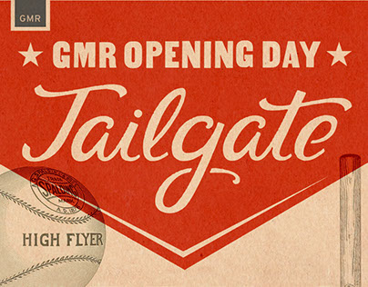 Experience Design // GMR Opening Day Tailgate