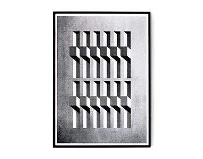 geometric compositions / prints