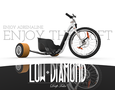 "(ID) ""Low Diamond"" Drift Trike"
