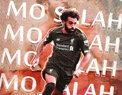 Football Poster - Mo Salah
