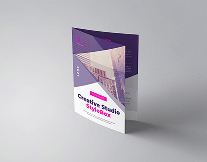 StyleBox Creative Studio Bi-Fold Brochure