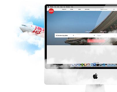 Air Asia Website Redesign