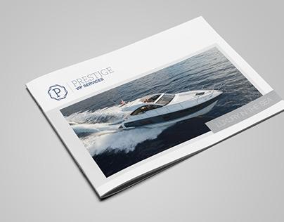 Luxury Yacht Brochure
