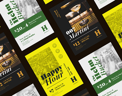 The Helm Bar - Promotional Posters