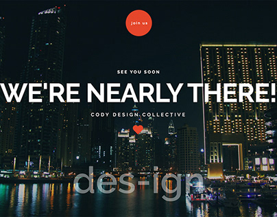 Cody - Responsive Coming Soon Html5 Template