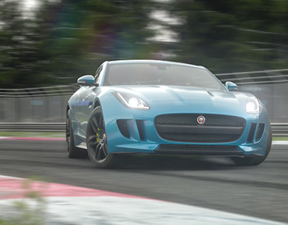 Jaguar F-Type - full CGi animation