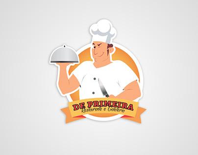 De Primeira - Logo + Business Card