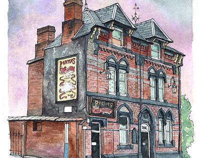 Porter's Ale House, Warrington, England