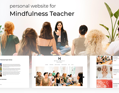 Personal Website For Mindfulness Teacher