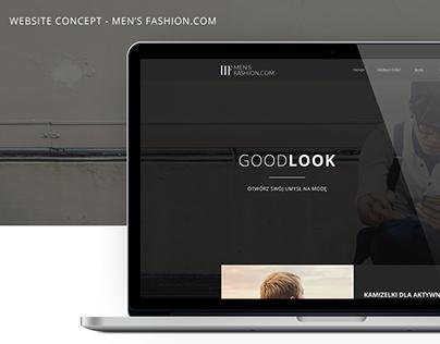 Men's Fashion — Concept WWW