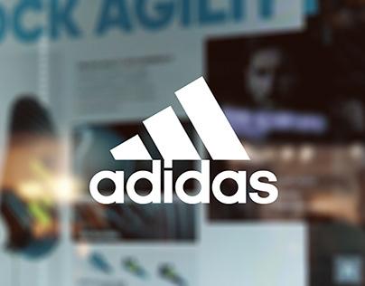 adidas Interactive Touch Screen at Marina Bay Sands