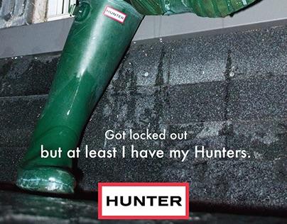 Hunter Fashion Ads