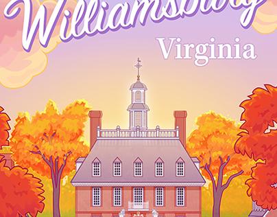 Williamsburg Poster (Vector)