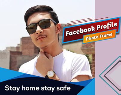 Facebook profile photo frame