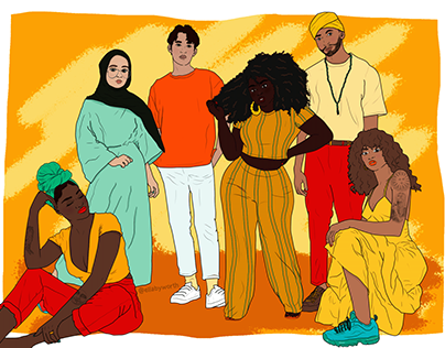 The State of Racism Illustration Project
