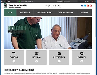 Webseite von Bodo Schucht GmbH