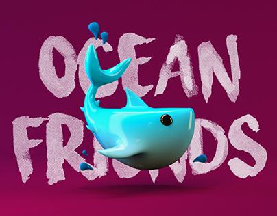 OCEAN FRIENDS | 3D Illustration