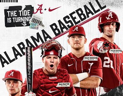 2020 Alabama Baseball Poster