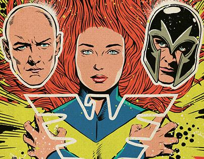 20th Century Fox & Marvel: X-Men Dark Phoenix Poster