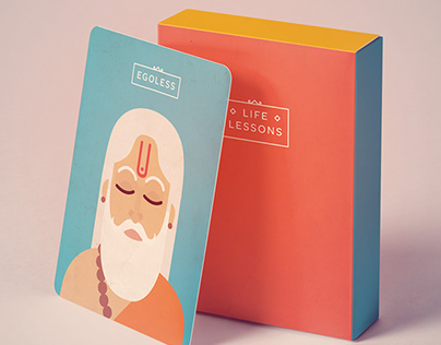 Life lessons - card game