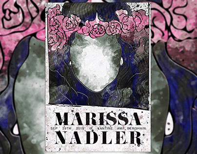 A Poster for Marissa Nadler - Live in Berlin 09/2019