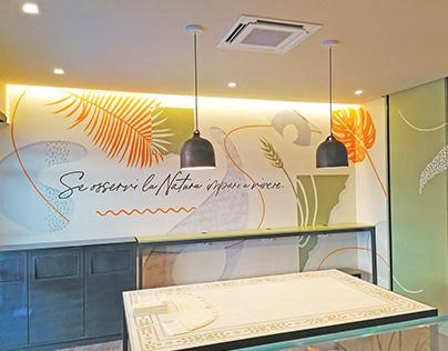 Wall decoration Frumento Restaurant