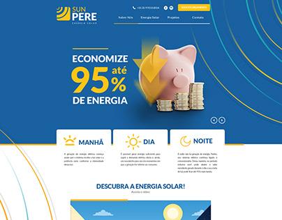 Site - SUNPERE - Energia Solar