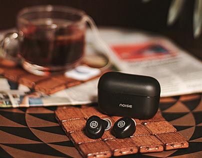 Noise Elan Wireless Earphones - Product Shoot
