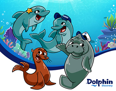 Personajes para Dolphin Discovery