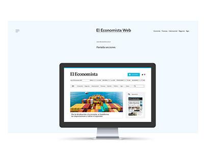 Diseño Web - El Economista Diario