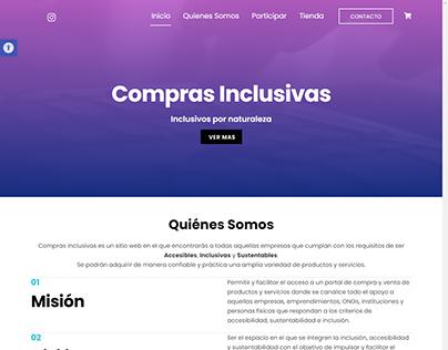ComprasInclusivas.com - Hidden EShop Project