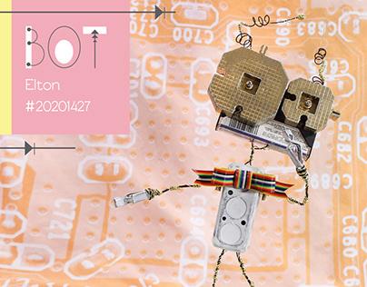Elton Robot Figure
