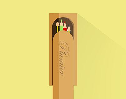Pencil world (2014)