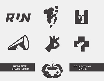Negative Space Logo Collection