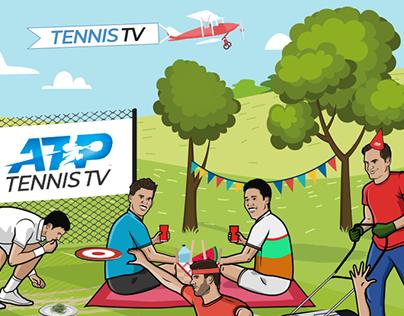 LiveWire Sport x Tennis TV