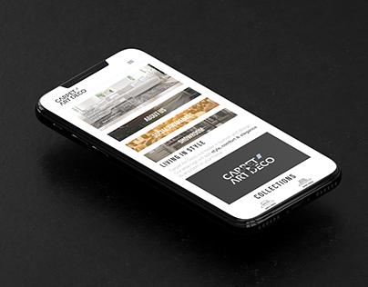 Carpet Art Deco website & branding
