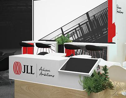 """""""JLL_AVITO"""" exhibition stand MAPIC RUSSIA 2020"""