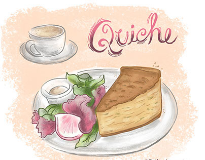 Spot Food Illustrations