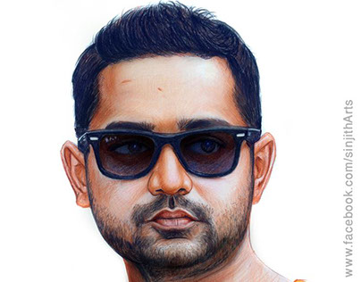 Actor- Asif Ali - Realistic Colored Pencil Drawing