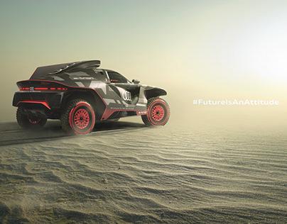 Audi Dakar FutureIsAnAttitude